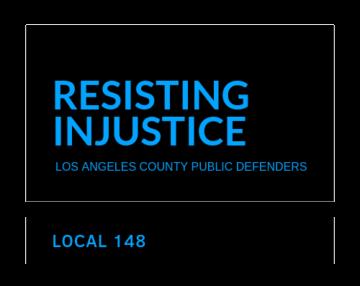 LA County Public Defenders Local 148